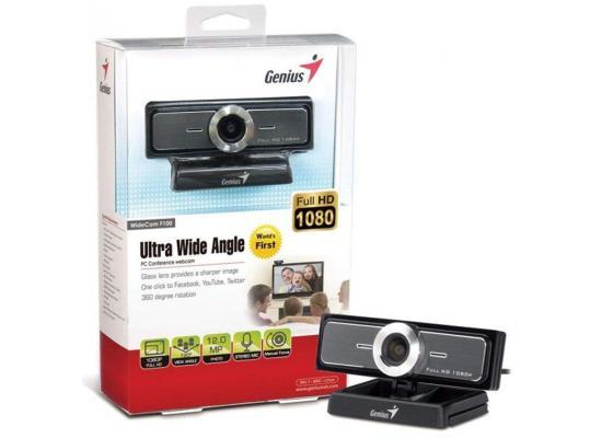 Genius WideCam F100 Ultra Wide Angle Full HD Webcam