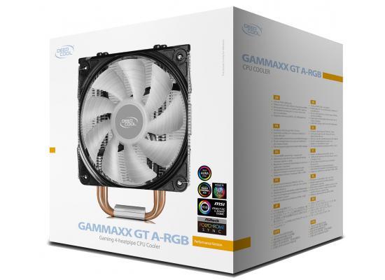 DEEPCOOL GAMMAXX GT A-RGB SYNC A-RGB Fan CPU AIR Cooler - Black