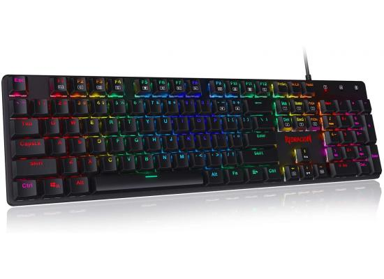Redragon K589 RGB Low Profile Mechanical Silent Linear Red Switches