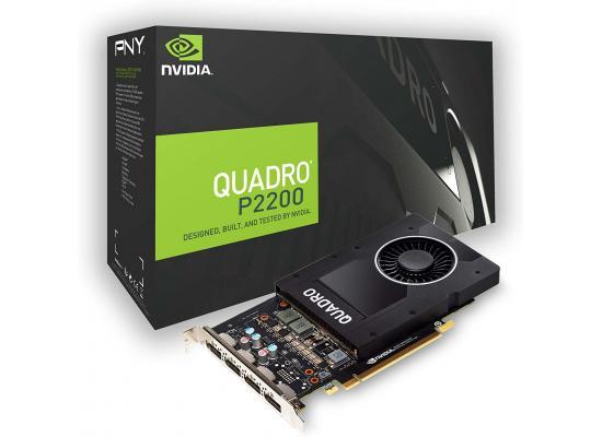PNY NVIDIA Quadro P2200 5GB GDDR5 4DisplayPorts