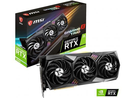 MSI GeForce RTX 3080 GAMING X TRIO 10G 10GB 320-Bit GDDR6X