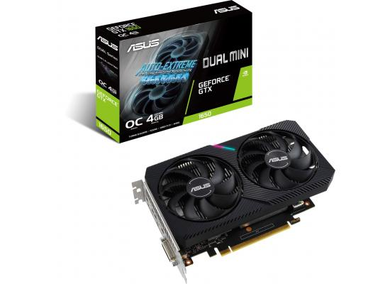 ASUS Dual D6 GeForce GTX 1650 MINI 4GB GDDR6 Video Card