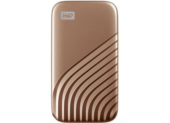 My Passport SSD 512GB Portable SSD USB 3.2 Up to 1050MB/s Gold