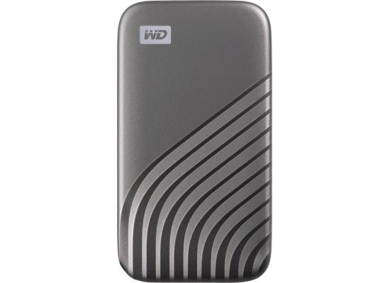 My Passport SSD 512GB Portable SSD USB 3.2 Up to 1050MB/s Grey