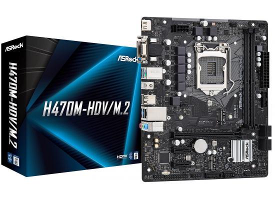 ASROCK H470M-HDV/M.2 Intel H470 M.2 Micro ATX Mainboard