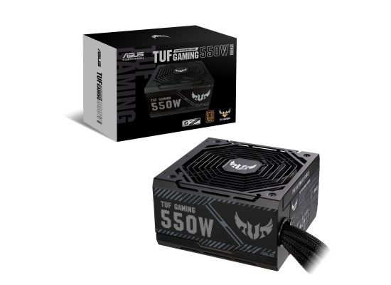 ASUS TUF Gaming 550W 80+ Bronze Axial-tech Fan 0dB Technology