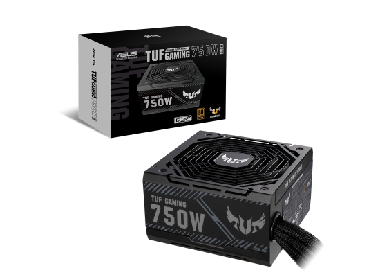 ASUS TUF Gaming 750W 80+ Bronze Axial-tech Fan 0dB Technology PSU