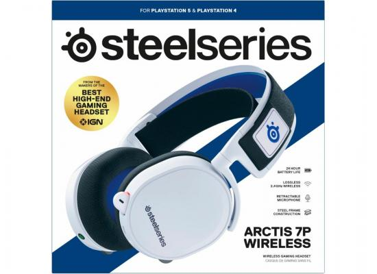 SteelSeries Arctis 7P Wireless Lossless 2.4 GHz For PlayStation