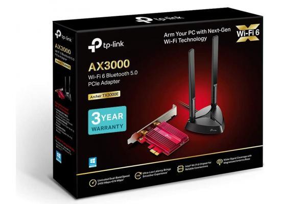 TP-LINK Archer TX3000E AX3000 Wi-Fi 6 Bluetooth 5.0 PCI Express