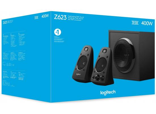 Logitech Z623 400W 2.1 Speaker System with THX Certified Audio
