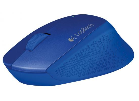 Logitech M280 Wireless Mouse Extra Comfort and Precision - Blue