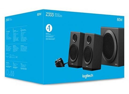 Logitech Z333 2.1 Computer Speaker System with Subwoofer