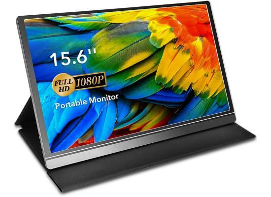 "GALAXY K-3 Pro 15.6"" IPS Full HD Portable Monitor USB C & mini HDMI"