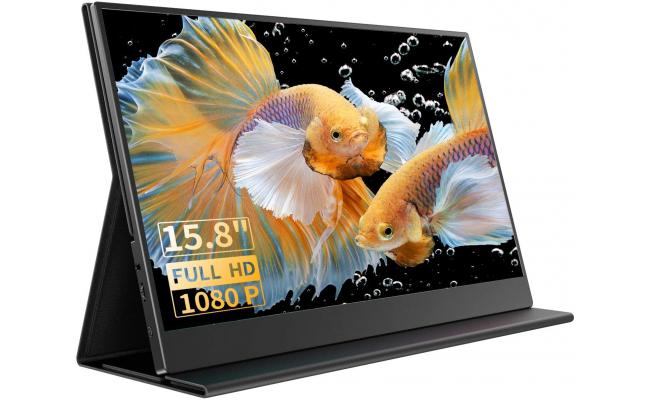 "GALAXY Z-1 Pro 15.8"" IPS Full HD Portable Monitor USB C & mini HDMI"