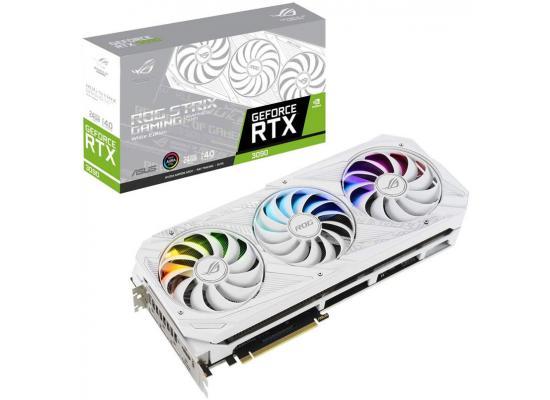 ASUS ROG STRIX GeForce RTX 3090 White OC Edition 24GB GDDR6X