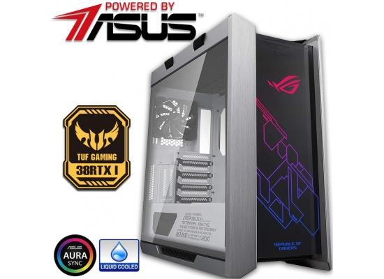 Powered By ASUS 38RTX I Gaming PC 10Gen Core i9 w/ RTX 3080 Liquid Cooled