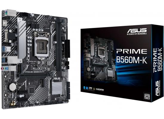 ASUS PRIME B560M-K Intel B460 M.2 Micro ATX Motherboard