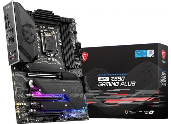 MSI MPG Z590 GAMING PLUS Intel Z590 ATX Motherboard