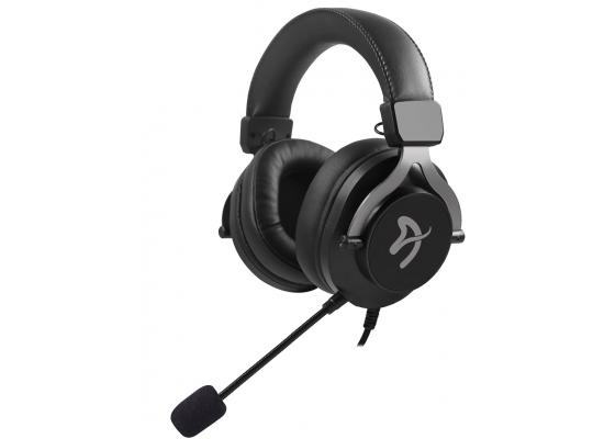 Arozzi Aria PU Leather Gaming Headset 3.5mm For PC & SP - Black