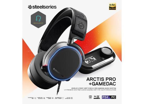 SteelSeries Arctis Pro + GameDAC Gamer Headphones