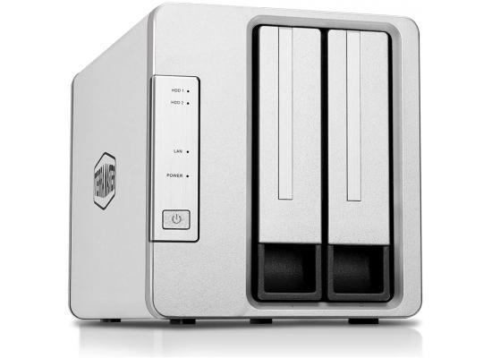 TerraMaster F2-210 2-Bay NAS Quad Core Media Server (Diskless)
