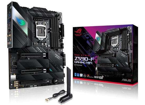ASUS ROG STRIX Z590-F GAMING Intel Z590 WIFI Dual M.2 RGB