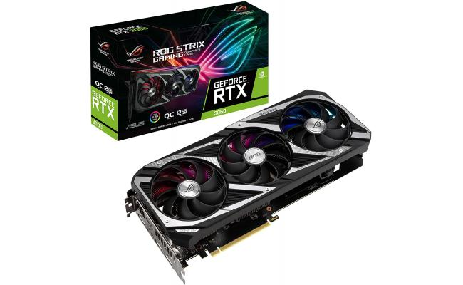 ASUS ROG Strix GeForce RTX 3060 OC Edition 12GB GDDR6