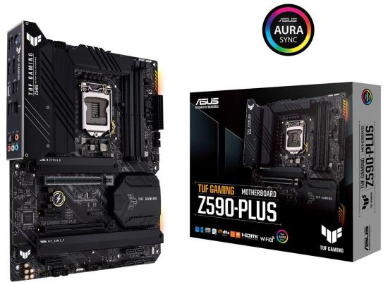 ASUS TUF GAMING Z590-PLUS Intel Z590 ATX Intel Motherboard
