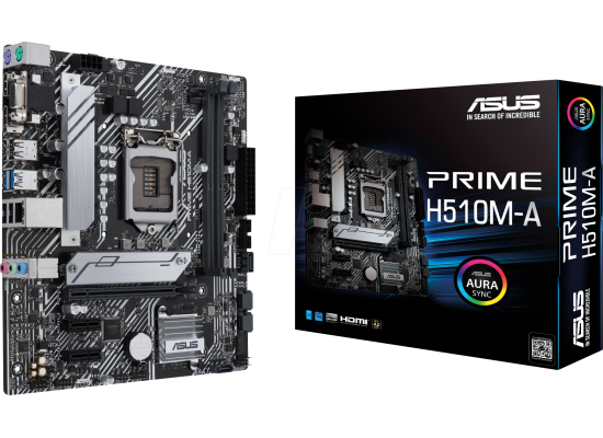 ASUS PRIME H510M-A Intel H510 M.2 Micro ATX Motherboard