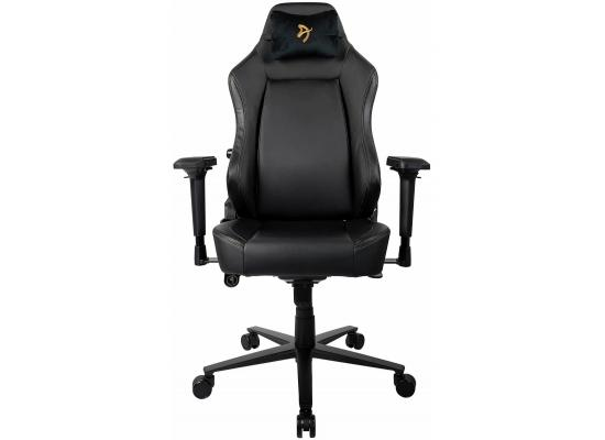 Arozzi Primo Premium PU Leather Gaming/Office Chair - Gold Logo