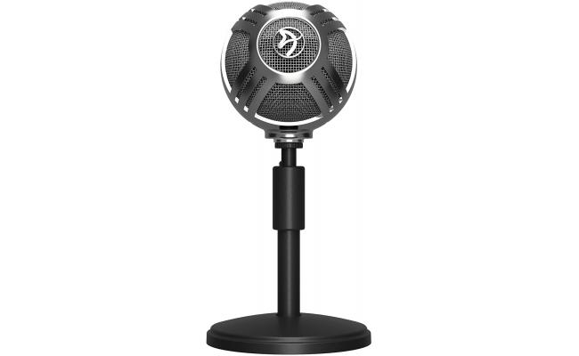 Arozzi Sfera USB Microphone for Gaming & Streaming, Chrome