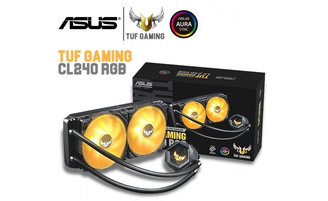 ASUS TUF Gaming LC 240 RGB All-in-one Liquid CPU Cooler