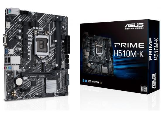 ASUS PRIME H510M-K Intel H510 M.2 Micro ATX Motherboard