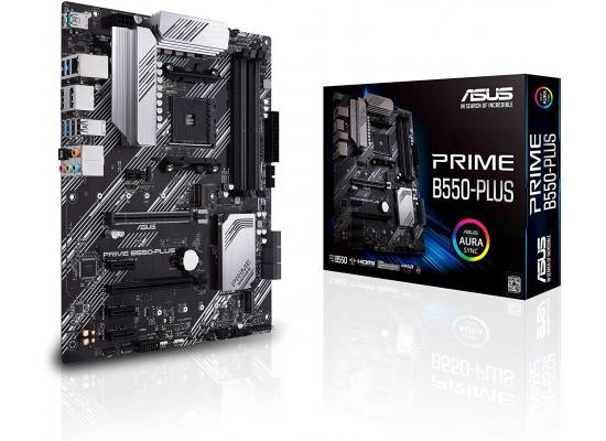 ASUS PRIME B550-PLUS AMD B550 SATA 6Gb/s ATX AMD Motherboard