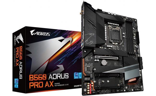 Gigabyte B560 Aorus Pro AX Intel B560 Triple M.2 WIFI 6 Motherboard