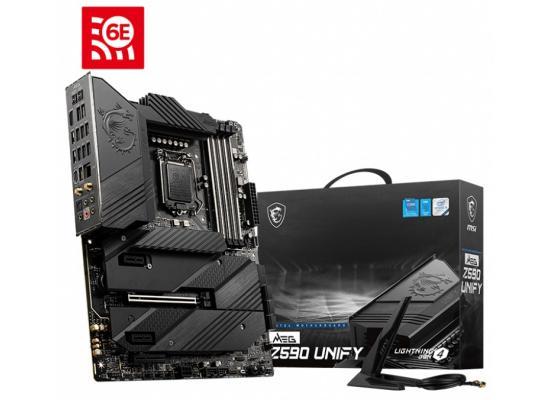MSI MEG Z590 UNIFY GAMING WIFI Intel Z590 ATX Intel Motherboard