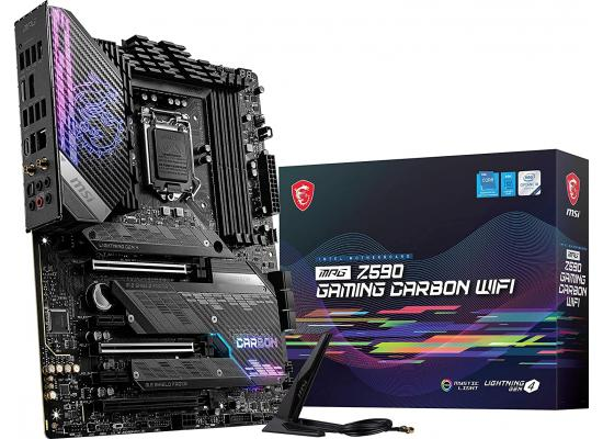 MSI MPG Z590 GAMING CARBON WIFI Intel Z590 ATX Intel Motherboard