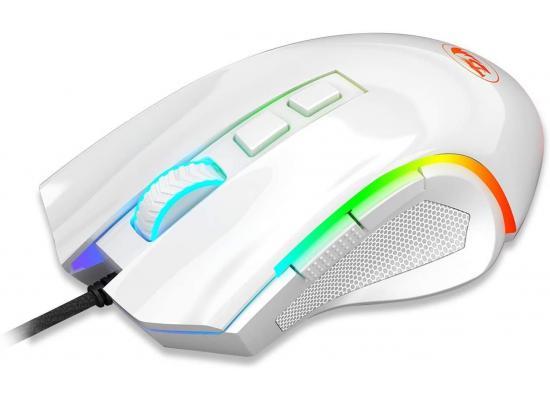 Redragon M607 Griffin 7200 DPI RGB Gaming Mouse - White