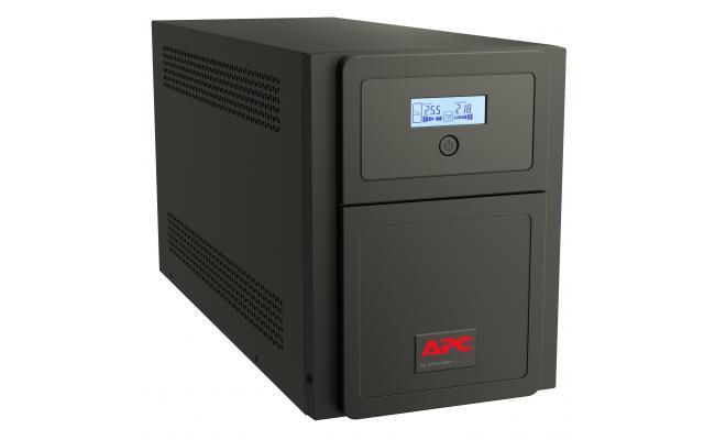 APC Easy UPS SMV 2000VA , 1400W Universal Outlet- Black