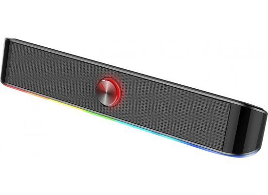 Redragon GS560 Adiemus RGB 2.0ch Speaker with Dynamic Lighting Bar