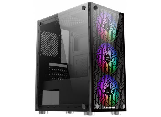 Xigmatek NYX 3F RGB Fans Tempered Glass Gaming Case