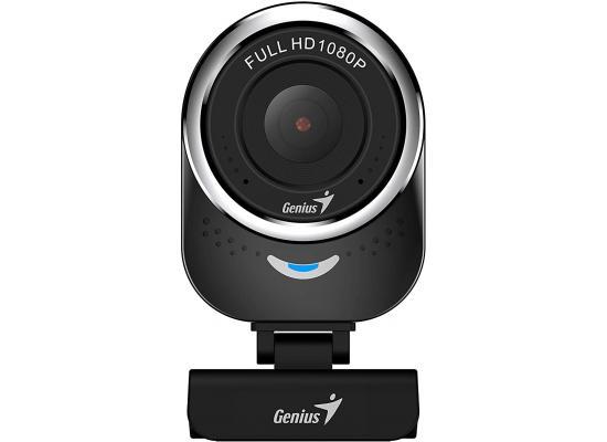 Genius QCam 6000 Black 1080p Webcam Full HD Webcam , Black