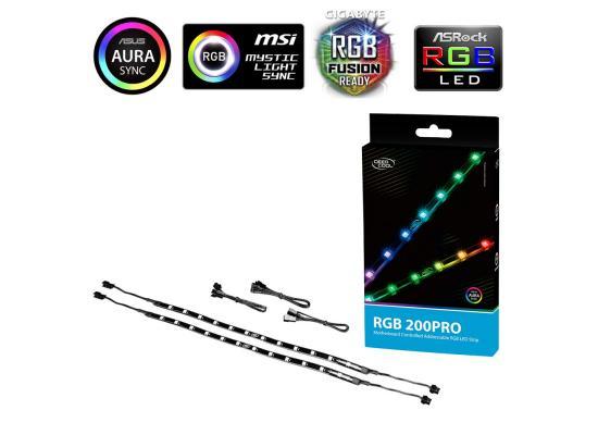 Deepcool RGB 200 PRO Colour Addressable LED Strip Magnetic Lighting Kit