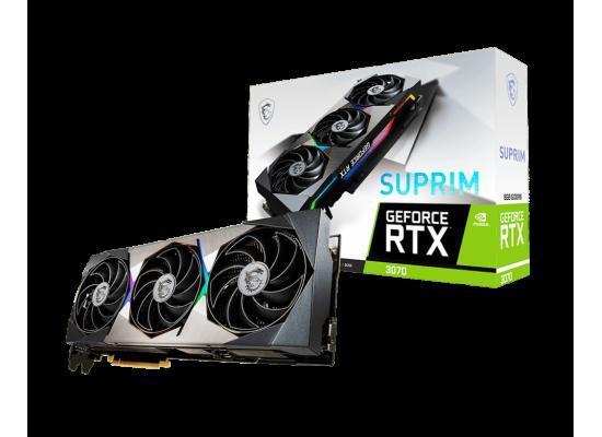 MSI GeForce RTX 3070 SUPRIM 8GB 256-Bit GDDR6