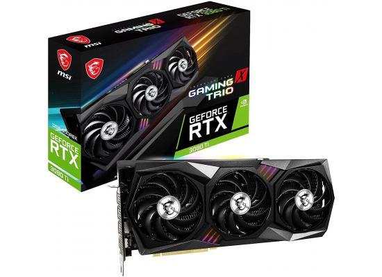 MSI Gaming GeForce RTX 3080 Ti 12GB GDDR6X Gaming X Trio