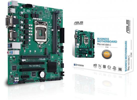 ASUS PRO H410M-C/CSM Intel H410 Micro ATX w / 2 PCI Slot Micro ATX