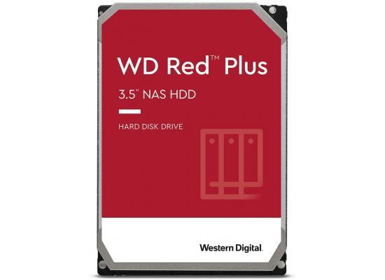 Western Digital 4TB WD Red Plus NAS HDD 128 MB Cache