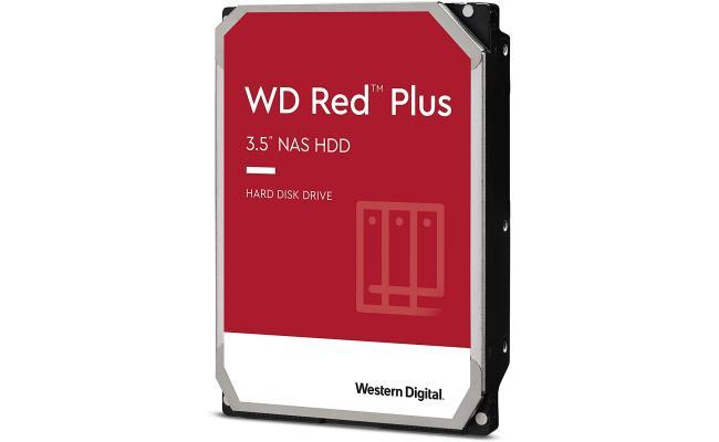 Western Digital 6TB WD Red Plus NAS HDD 128 MB Cache