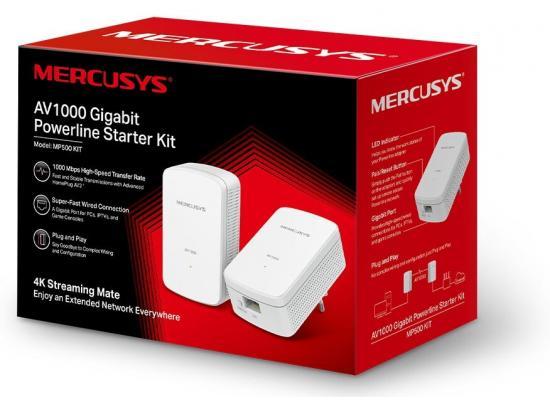 Mercusys MP500 KIT AV1000 Gigabit Powerline