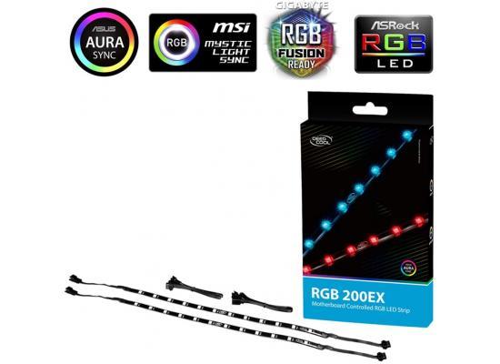 Deepcool RGB 200 EX Colour LED Strip Magnetic Lighting Kit